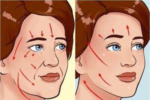 7 bài tập cho khuôn mặt làm nếp nhăn biến mất, làn da căng mịn giúp phụ nữ trẻ ra cả chục tuổi