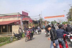 Cầm dao cướp ngân hàng ở Thái Bình