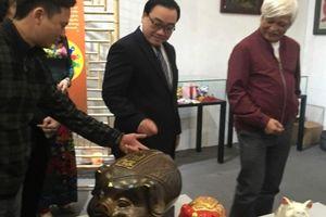 Khai mạc triển lãm 'Con giáp của tôi - Lợn sung túc'