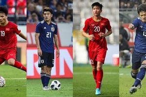 Đội hình U23 kết hợp giữa ĐT Việt Nam và ĐT Nhật Bản ở Asian Cup 2019