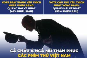 Biếm họa 24h: Châu Á ngả mũ trước các 'phím thủ' của Việt Nam
