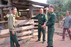 Ấm tình quân dân vùng biên cương Đắk Lắk