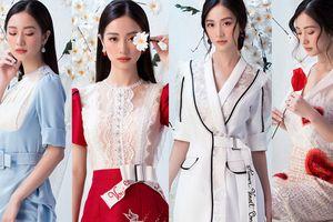 Jun Vũ xinh đẹp như thiên thần trong các thiết kế của Đỗ Long
