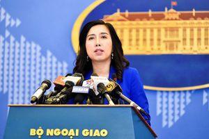 Việt Nam lên tiếng về tình hình chính trị đang leo thang tại Venezuela