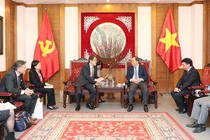 Việt Nam - Nhật Bản tăng cường hợp tác trên lĩnh vực bóng đá