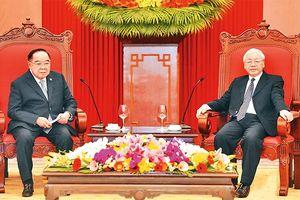 Tổng Bí thư, Chủ tịch nước Nguyễn Phú Trọng tiếp Phó Thủ tướng, Bộ trưởng Quốc phòng Thái-lan