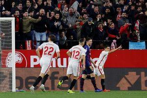 Vắng Messi, Barca thúc thủ 0-2 ở tứ kết Copa del Rey