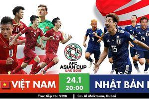 Việt Nam - Nhật Bản (20 giờ ngày 24-1): Chờ 1 điều kỳ diệu