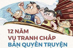 Hôm nay (24/1), mở lại phiên tòa xử vụ tranh chấp bản quyền truyện Thần đồng đất Việt