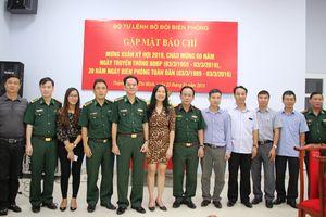 Bộ Tư lệnh BĐBP gặp mặt đại diện, phóng viên các cơ quan báo chí tại TP Hồ Chí Minh