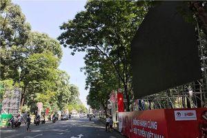 TPHCM lắp 5 màn hình Led 'khủng' trực tiếp trận Việt Nam – Nhật Bản