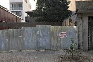 Long Biên, Hà Nội: UBND phường phá dỡ công trình khi vụ việc đang được Tòa án giải quyết