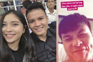 Bạn gái Quang Hải đăng ảnh tình cảm, đáp trả tin đồn rạn nứt