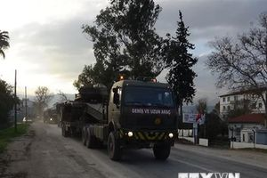 Tổng thống Thổ Nhĩ Kỳ tái khẳng định mục tiêu chống IS tại Syria
