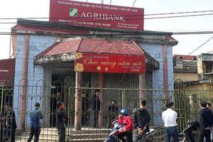 Cướp ngân hàng Agribank ở Thái Bình: Nghi phạm khai do cần tiền đổi xe cho bạn gái