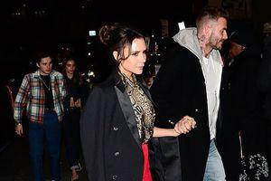 Vợ chồng Beckham tay trong tay tình tứ giữa tin đồn ly hôn