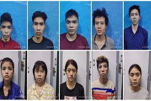Bắt giữ cặp vợ chồng dẫn dắt 3 con bán ma túy, lấy nhà ở làm đại bản doanh cho con nghiện ở Sài Gòn