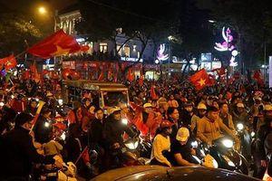 Hà Nội huy động toàn bộ lực lượng CSGT đảm bảo an ninh đêm Tứ kết Asian Cup