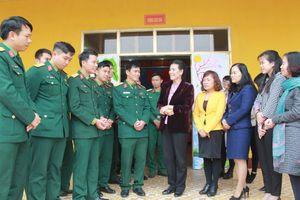 TƯ Hội LHPN Việt Nam chúc Tết Tiểu đoàn Phủ Thông và Bình Ca