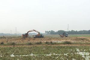 Triệu Sơn (Thanh Hóa): Lợi dụng cải tạo ruộng để khai thác đất trái phép?