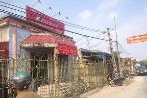 Đã bắt được nghi phạm cướp ngân hàng Agribank tại Thái Bình