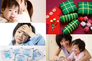 Phòng ngừa các bệnh ngày Tết trẻ em dễ mắc phải