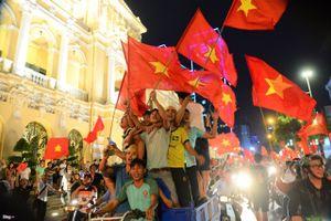 Hà Nội huy động 100% cán bộ chiến sỹ CSGT ứng trực trận Việt Nam - Nhật Bản