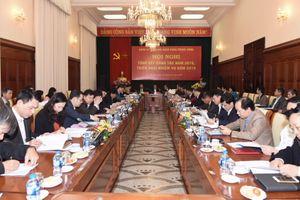 Đảng ủy Cơ quan Ngân hàng Trung ương triển khai nhiệm vụ năm 2019