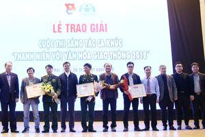 Trao giải Cuộc thi sáng tác ca khúc 'Thanh niên với văn hóa giao thông' 2018