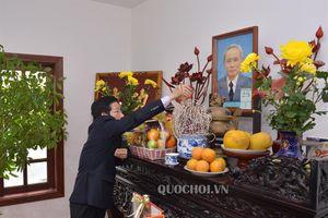 Phó Chủ tịch Quốc hội Phùng Quốc hiển thăm, chúc tết các đồng chí nguyên lãnh đạo đảng, nhà nước và Quốc hội