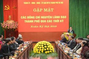 Hà Nội gặp mặt các đồng chí nguyên lãnh đạo TP nhân dịp Tết Nguyên đán Kỷ Hợi