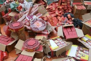 Phát hiện, bắt giữ gần 100 kg pháo tại Thanh Hóa