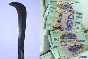 Đã thu hồi được bao nhiêu tiền trong vụ cướp ngân hàng ở Thái Bình?