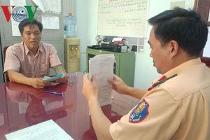 Bà Rịa-Vũng Tàu: Phát hiện tài xế container dương tính với ma túy