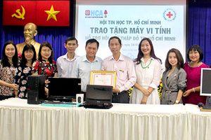 HCA sẵn sàng phối hợp cùng Hội Chữ thập đỏ TP.HCM trong các hoạt động thiện nguyện