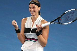 Sự trở lại ngọt ngào của Kvitova