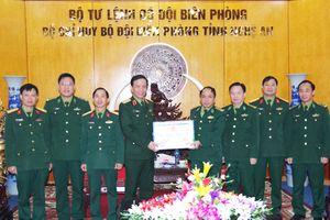 Lãnh đạo Bộ Tư lệnh Quân khu 4 chúc Tết cán bộ, chiến sỹ BĐBP Nghệ An