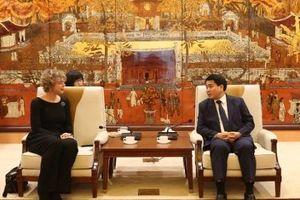 Hà Nội - Hà Lan: Tăng cường hợp tác trên nhiều lĩnh vực