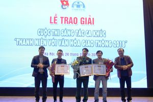 5 ca khúc đạt giải cuộc thi sáng tác 'Thanh niên với văn hóa giao thông'
