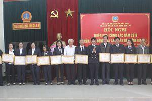 TAND hai cấp tỉnh Gia Lai đón nhận hai huân chương lao động hạng 3 trong năm 2018