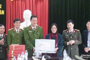 Phó Chủ tịch HĐND tỉnh thăm, chúc Tết tại huyện Nghĩa Đàn