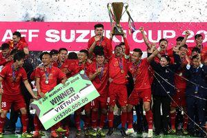 Năm thắng lợi của tuyển Việt Nam cả về thành tích lẫn tiền thưởng