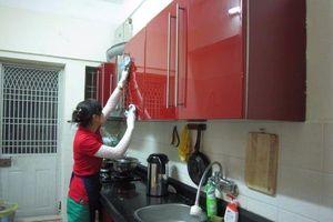 Dịch vụ dọn nhà đón Tết: Giá tăng mạnh vẫn hút khách