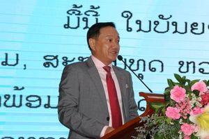 Đại sứ quán Việt Nam tại Lào mừng xuân Kỷ Hợi 2019