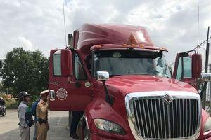 Bị các tài xế khác rủ rê, một phụ xe container thừa nhận có dùng ma túy