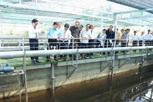 Nhà máy xử lý nước thải của đại gia Dũng 'lò vôi' chính thức đi vào hoạt động