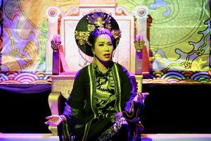 Ra mắt vở diễn Thái hậu Dương Vân Nga