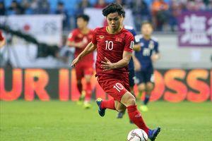 Công Phượng lọt top 5 cầu thủ hay nhất tứ kết Asian Cup 2019