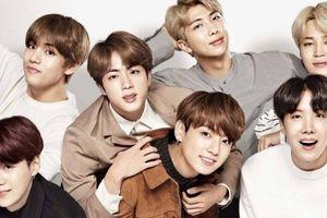 BTS lọt top 10 nhóm nhạc hàng đầu mọi thời đại
