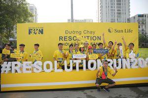 Căng tràn sức trẻ cùng đường đua Resolution Run 2019
